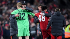 Republic of Ireland Under-21 goalkeeper Caoimhin Kelleher is set to return to the Liverpool line-up for the Carabao Cup clash against Aston Villa