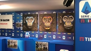 Artist Simone Fugazzotto is famous for his works featuring monkeys