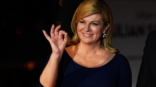 Will Kolinda Grabar-Kitarovic still be president when the dust settles? Photo: Getty Images