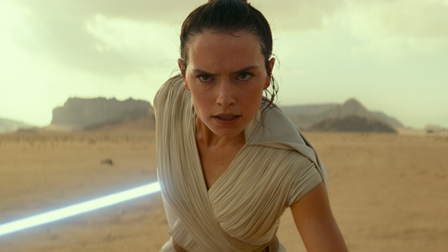 Rey of light: Daisy Ridley in Star Wars: The Rise of Skywalker