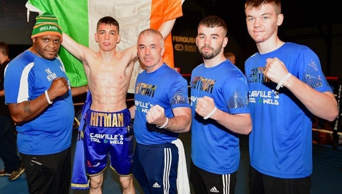 Stevie McKenna is back in action on the Wakefield card