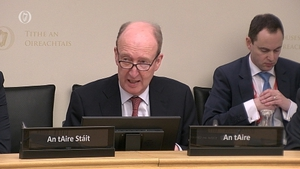 Minister for Sport Shane Ross was speaking at the Oireachtas Sports Committee