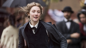 Saoirse Ronan is nominated for a Golden Globe for her performance in Little Women