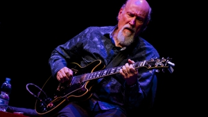 Still wowing the faithful: 67-year old John Scofield performing in Rome last February