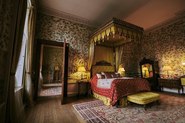 Belvoir castle bedroom