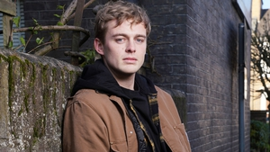 Dayle Hudson playing Peter Beale