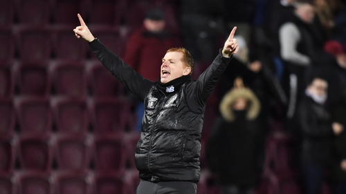 Lennon's Hoops are five points clear of Rangers