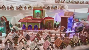 It took three bakers in the city of Gliwice four months to create the masterpiece