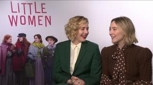 Greta Gerwig and Saoirse Ronan