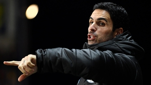 Mikel Arteta was on the sideline for City's win over Oxford