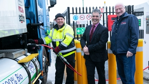 Jimmy O'Connor, Virginia International Logistics; Ian O'Flynn, Head of Commercial and Corporate Affairs at Gas Networks Ireland and Eamon Cole, Director of Virginia International Logistics