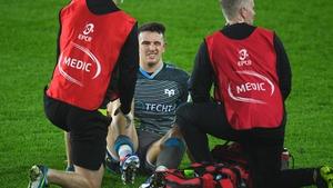 Owen Watkin required surgery on his injured knee