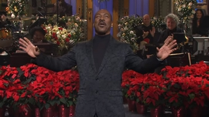 "Eddie Murphy - ""It's great to be back here, finally"" Screengrab: Saturday Night Live/NBC"