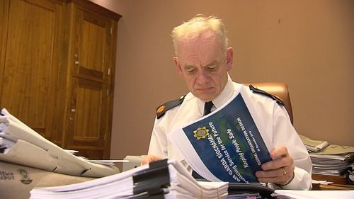John O'Driscoll said he is confident that the methods being used by An Garda Síochána are working