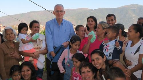 Fr John Jennings is working in one of the most marginalised neighbourhoods, or barrios, in Caracas