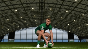 Ireland Sevens player Terry Kennedy at the IRFU High Performance Centre.