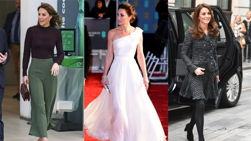 This was the year the Duchess of Cambridge embraced trousers *gasp*.