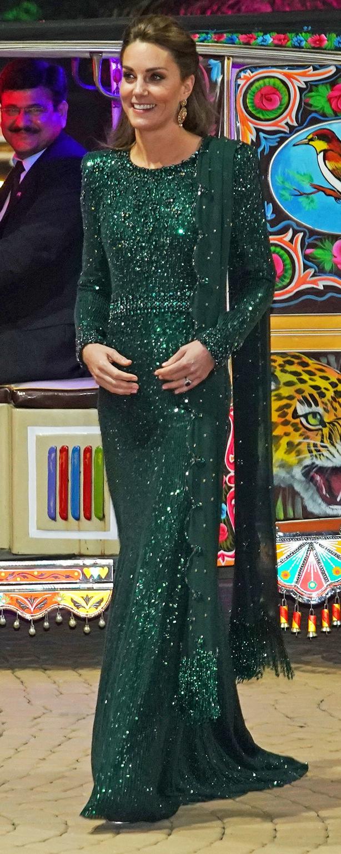 The Duchess during the royal visit to Pakistan (Owen Humphreys/PA)