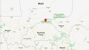 Seven soldiers and 80 jihadists also died in the double attackin Arbinda in Soum province (Pic: Google Maps)