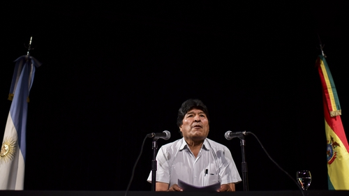 Evo Morales resigned as president of Bolivia on 10 November after almost three weeks of protests