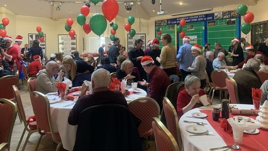 Efforts to keep annual Christmas dinner for those living alone
