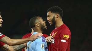 Sterling and Gomez didn't quite see eye to eye in November