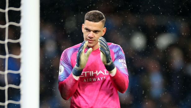 Man City keeper Ederson: No rivalry with Liverpool's Brazilians