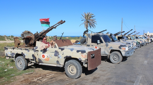 Libya conflict: EU agrees new patrols to stop arms flow