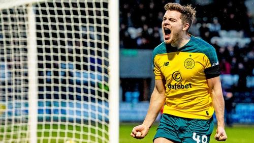James Forrest scored Celtic's second goal at Paisley