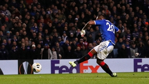 Alfredo Morelos made himself the hero within minutes of replacing Jermain Defoe as he fired his 28th goal of the season to clinch a 1-0 win