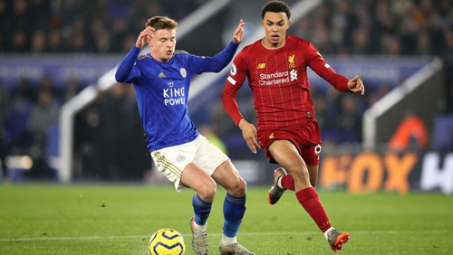 Leicester's home tie with Liverpool was one of the many ties played over the festive period