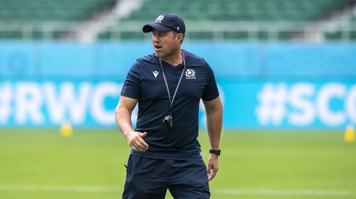 Matt Taylor was an assistant to Scotland coach Gregor Townsend at the Rugby World Cup in Japan and has been involved with championship-winning teams in both hemispheres