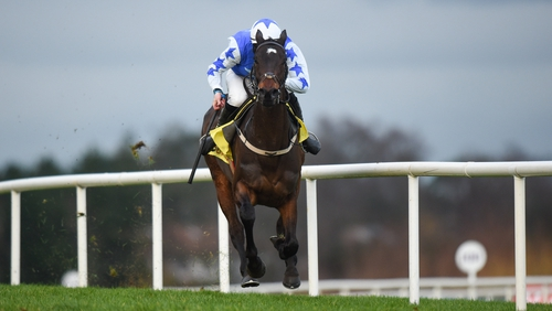 Kemboy is the favourite to land the Irish Gold Cup
