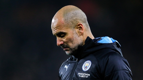 Pep Guardiola: 'We have to adjust mentally to the situation'