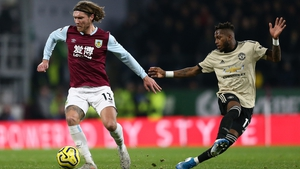 Jeff Hendrick could walk away from Burnley at the end of the month