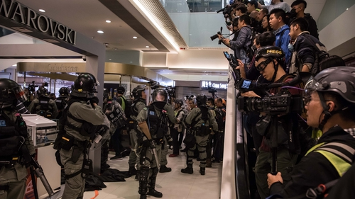 Hong Kong has seen months of clashes between police and activists