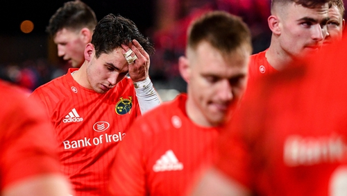 Joey Carbery made his first appearance of the season for Munster