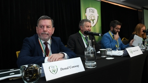 FAI President Donal Conway at Citywest