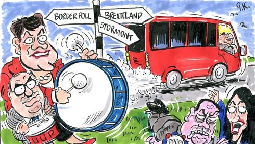 Cartoon: Graham Keyes