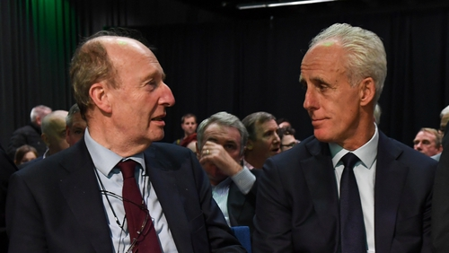 """Shane Ross feels Mick McCarthy is paid an """"awful lot of money"""""""