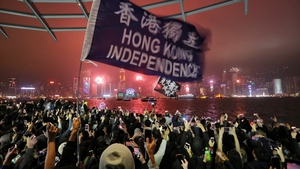 Hong Kong had seen widespread street protests since 2019