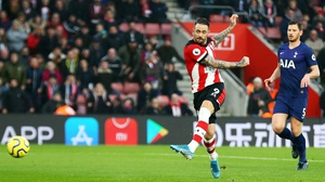Danny Ings scores the game's only goal