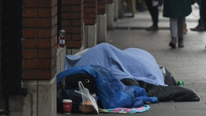 The annual spring count of people sleeping rough in Dublin has been postponed