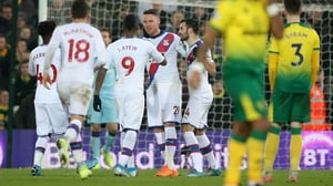 Connor Wickham celebrates his late leveler