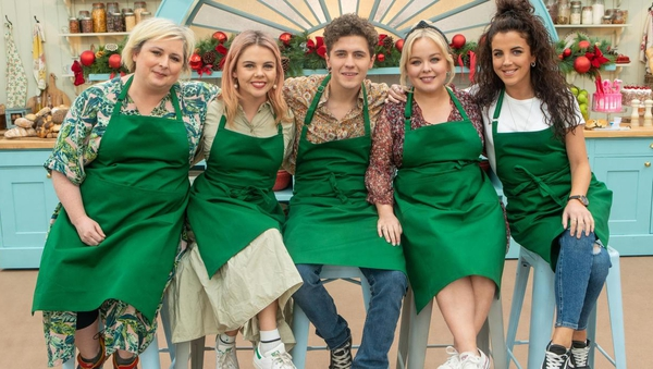 The Derry Girls baked up a storm on The Great British Bake Off