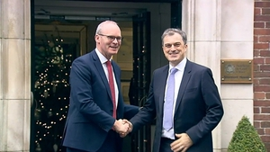 Simon Coveney and Julian Smith are meeting the five main political parties at Stormont