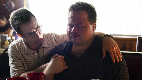 Paul Walter Hauser (right, with Sam Rockwell) should have received an Oscar nomination for his portrayal of Richard Jewell
