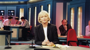 Presenting Crimeline on RTÉ One in March 1997