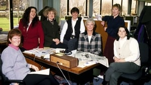 With the Liveline team in early 1995