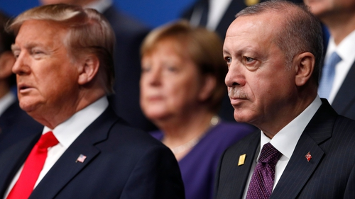 """President Trump warned Mr Erdogan """"that foreign interference is complicating the situation in Libya"""""""